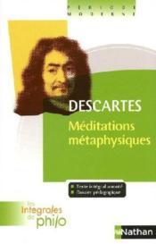 Descartes ; méditations métaphysiques - Couverture - Format classique