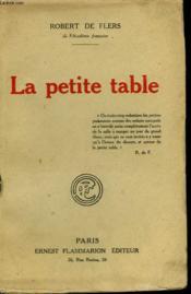 La Petite Table. - Couverture - Format classique