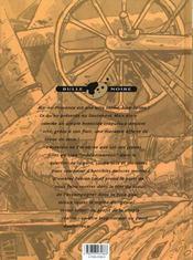 Macadam t.2 ; le chant du bourreau - 4ème de couverture - Format classique