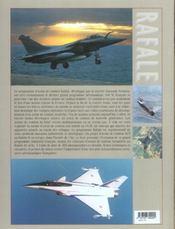 Rafale, la suprematie aerienne - 4ème de couverture - Format classique