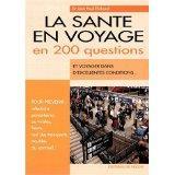 La Sante En Voyage En 200 Questions - Couverture - Format classique