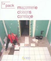 Le pack maçonnerie - Intérieur - Format classique