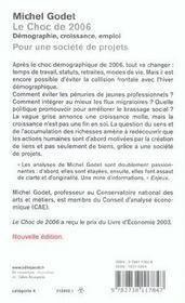 Le Choc De 2006 - 4ème de couverture - Format classique