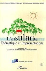 Insularite (L') Thematique Et Representations - Couverture - Format classique