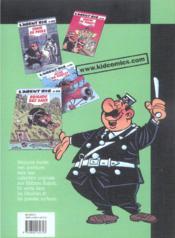 L'Agent 212 Pirate T.15; L'Appeau De L'Ours - 4ème de couverture - Format classique