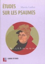 Etudes Sur Les Psaumes - Couverture - Format classique