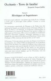 Occitanie t.2 - 4ème de couverture - Format classique