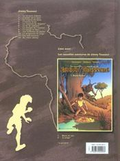 Jimmy Tousseul t.3 ; le crépuscule blanc - 4ème de couverture - Format classique
