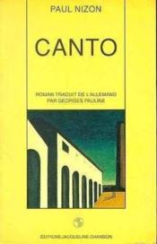 Canto - Couverture - Format classique