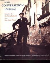 Petite Conversation Venitienne - Couverture - Format classique