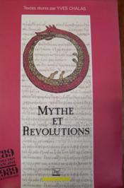Mythes et révolutions. - Couverture - Format classique