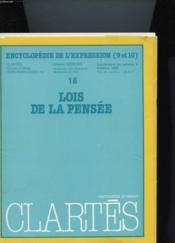 Supplement : Lois De La Pensee N°4 - Couverture - Format classique