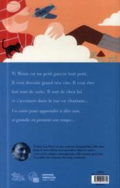 Ti Moun dit non ! - 4ème de couverture - Format classique