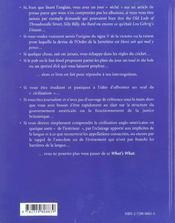 What'S What Dictionnaire Culturel Du Monde Anglophone - 4ème de couverture - Format classique