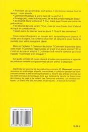 L'Ecureuil - 4ème de couverture - Format classique