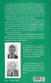 L'Entreprise Entre Contrainte Et Liberte - 4ème de couverture - Format classique