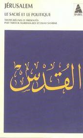 Jerusalem Babel 640 - Intérieur - Format classique