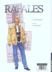 Rafales t.1 ; les inhumains - 4ème de couverture - Format classique