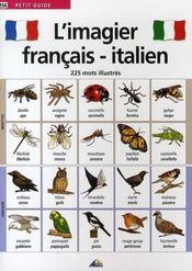 L'imagier français/italien - Intérieur - Format classique