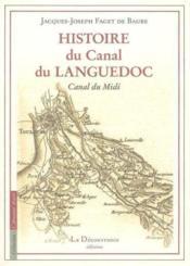Histoire Du Canal Du Languedoc - Couverture - Format classique