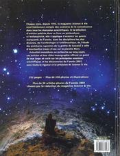 Science Et Vie ; Le Livre ; Edition 2001 - 4ème de couverture - Format classique