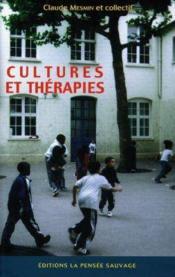 Cultures Et Therapies - Couverture - Format classique
