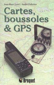 Cartes, Boussoles Et Gps - Intérieur - Format classique