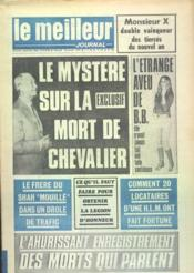 Meilleur Journal (Le) N°62 du 08/01/1972 - Couverture - Format classique