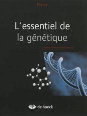 L'essentiel de la génétique - Couverture - Format classique