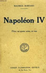Napoleon Iv. Piece En Quatre Actes, En Vers. - Couverture - Format classique
