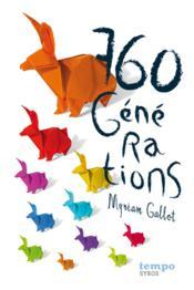 760 générations - Couverture - Format classique