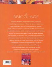 Le bricolage (édition 2003) - 4ème de couverture - Format classique