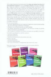 Révisions et autoévaluation en biologie cellulaire et en histologie - 4ème de couverture - Format classique