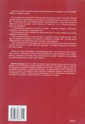 Cours De Tennis De Table - 4ème de couverture - Format classique