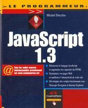 Le Programmeur Javascript - Intérieur - Format classique