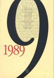1989 - Couverture - Format classique