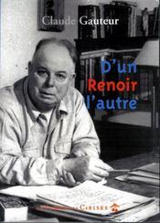 D'un Renoir l'autre - Intérieur - Format classique