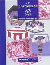 Le cartonnage - Intérieur - Format classique