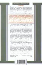 Benoit - 4ème de couverture - Format classique