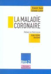 La Maladie Coronaire - Intérieur - Format classique