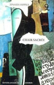 Chair Sacree - Couverture - Format classique