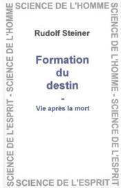 Formation Et Destin - Couverture - Format classique