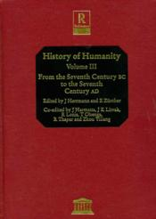 History of humanity, scientific and cultural development. - Couverture - Format classique