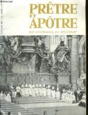 Pretre Et Apotre Vie Interieure Et Apostolat - N°500 - Couverture - Format classique
