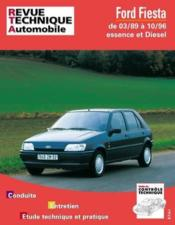 Rta 512.6 Ford Fiesta Essence-Diesel (89/96) - Couverture - Format classique
