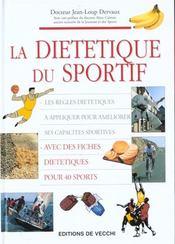 La Dietetique Du Sportif - Intérieur - Format classique