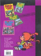 Boule & Bill T.9 - 4ème de couverture - Format classique
