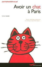 Avoir un chat à paris 2006 - Intérieur - Format classique