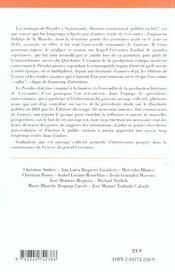 Les Travaux De Persiles Et Sigismonde De Cervantes - 4ème de couverture - Format classique