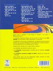 Puissance 15 - chimie mpsi - 4ème de couverture - Format classique